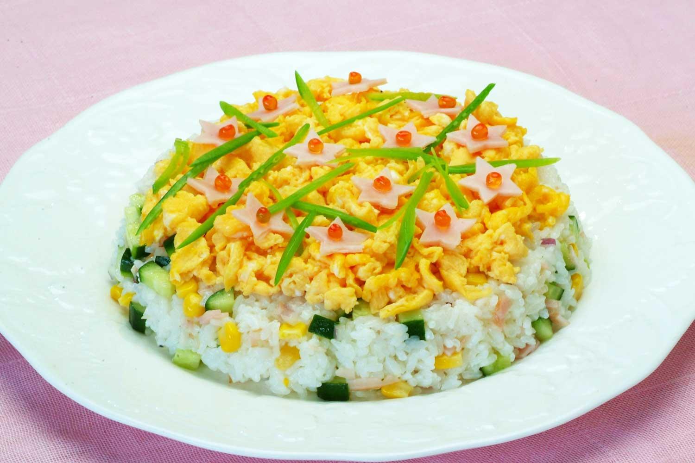 簡単洋風寿司