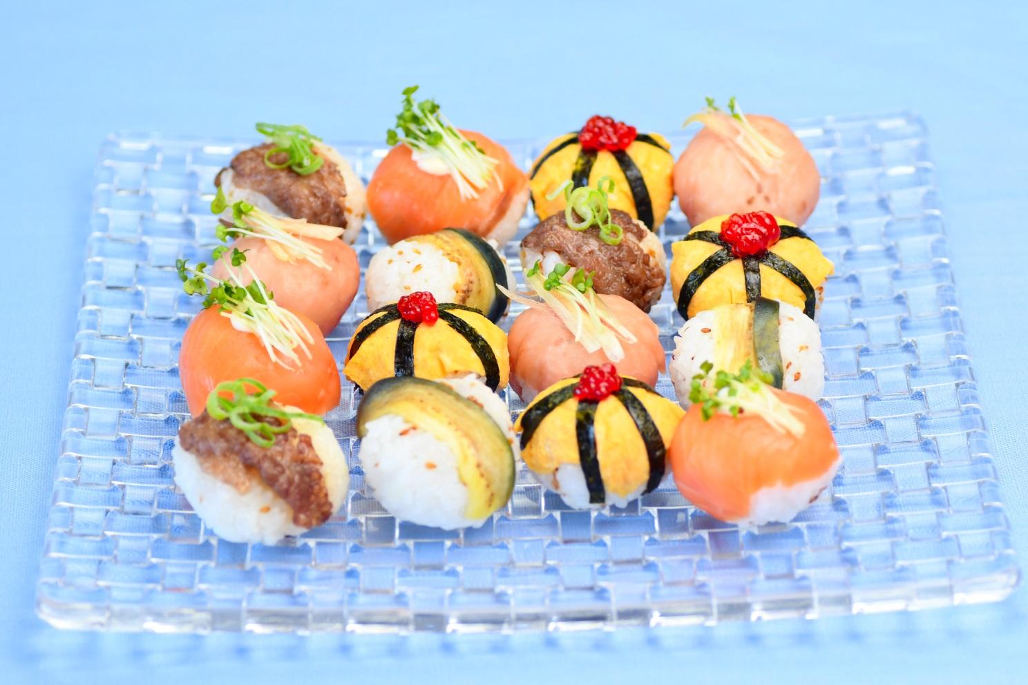 夏のおもてなしてまり寿司