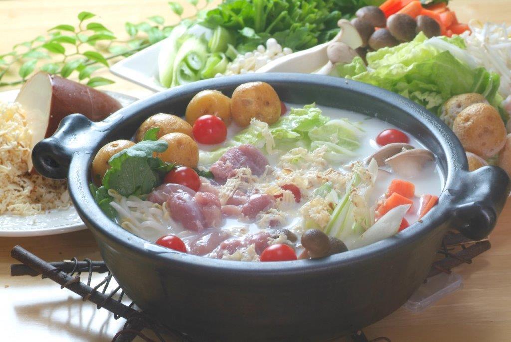 山椒風味の洋風鍋