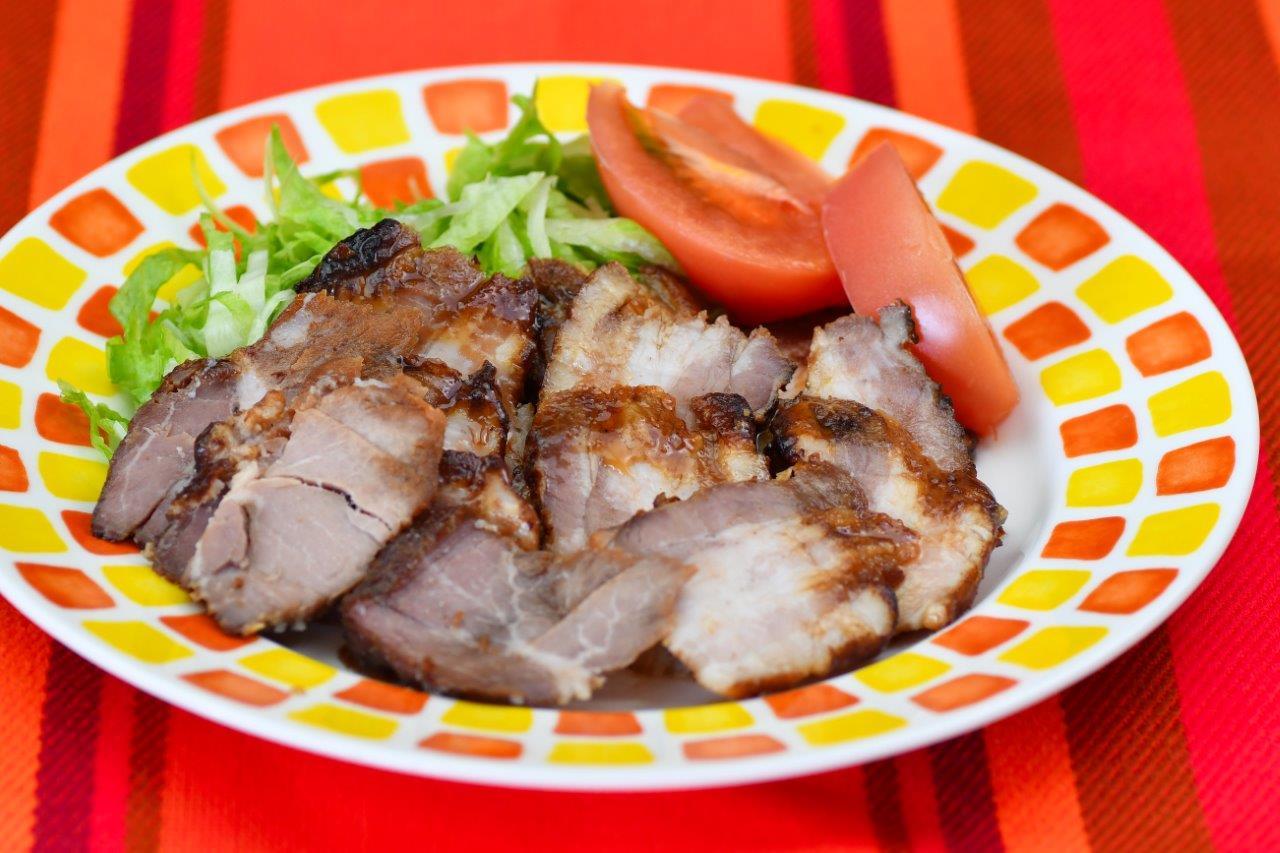 カラメルレモンソースの焼豚